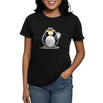 racquetball Penguin Women's Dark T-Shirt