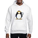 racquetball Penguin Hooded Sweatshirt