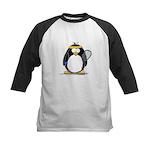 racquetball Penguin Kids Baseball Jersey