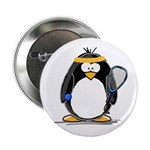 racquetball Penguin Button