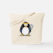racquetball Penguin Tote Bag