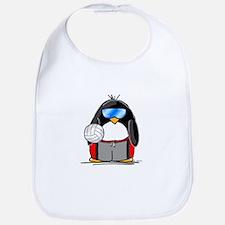 beach volleyball boy Penguin Bib