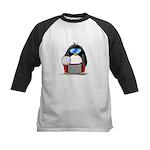 beach volleyball boy Penguin Kids Baseball Jersey