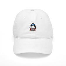 beach volleyball boy Penguin Baseball Cap