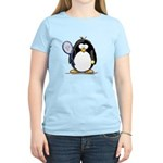 Tennis Penguin Women's Light T-Shirt