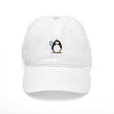 Tennis Penguin Baseball Cap