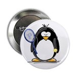 Tennis Penguin Button