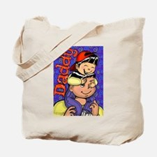 Piggyback Daddy Tote Bag