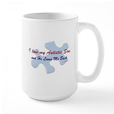 He Loves Me Back (Autism) Mug