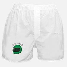 Born To Race! Boxer Shorts