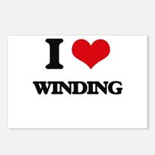 I love Winding Postcards (Package of 8)