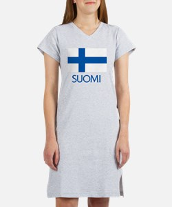 Suomi Flag Women's Nightshirt