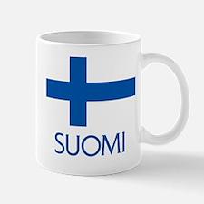 Suomi Flag Mug