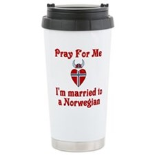 Cute Pray me Travel Mug