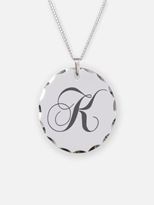 K-cho gray Necklace