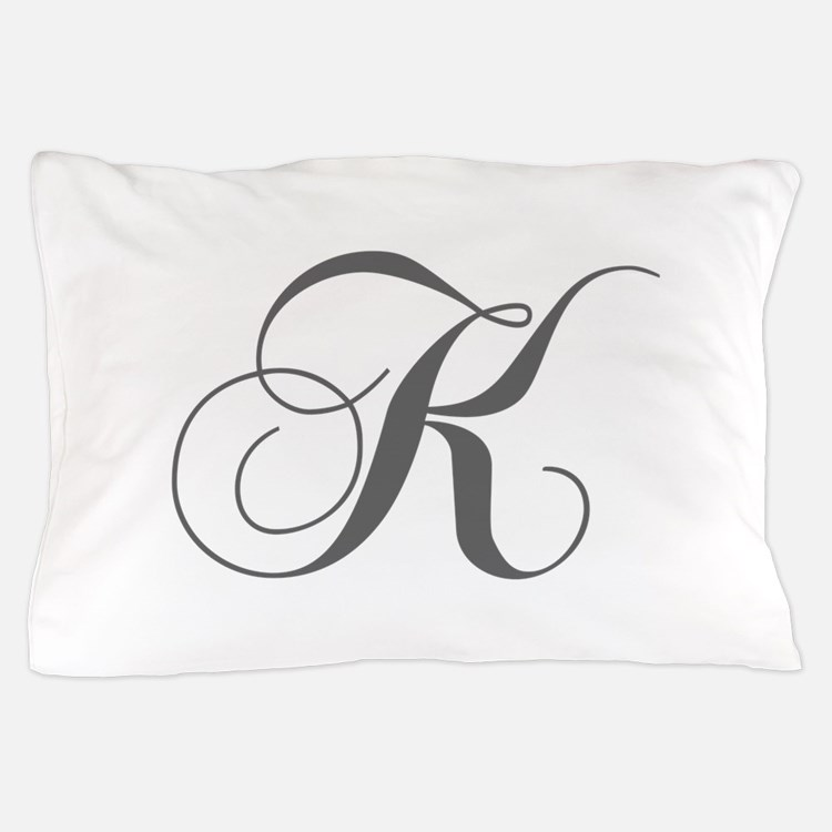 K-cho gray Pillow Case
