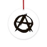 Anarchy Ornament (Round)