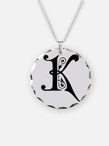 K-pre black Necklace
