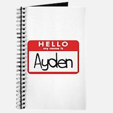 Hello Ayden Journal