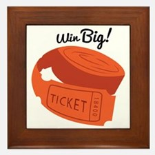 Win Big! Framed Tile