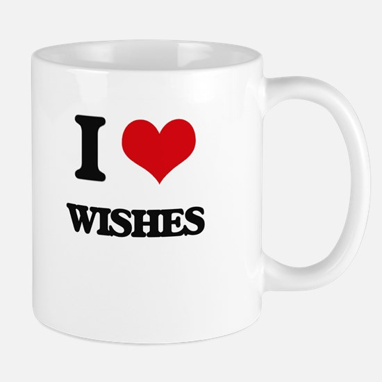 I love Wishes Mugs