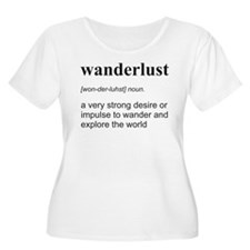 Wanderlust Definition Plus Size T-Shirt