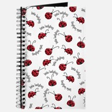 Little Red Ladybugs Journal