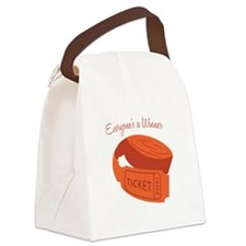 Everyone's A Winner Canvas Lunch Bag