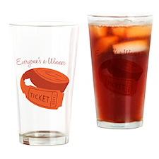 Everyone's A Winner Drinking Glass