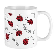 Little Red Ladybugs Mugs