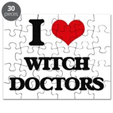 I love Witch Doctors Puzzle