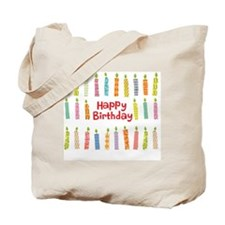 happy brithday Tote Bag