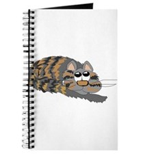 Cat Curled Up Journal