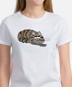 Cat Curled Up T-Shirt