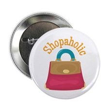 "Shopaholic 2.25"" Button (10 pack)"