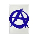 Anarchy Rectangle Magnet