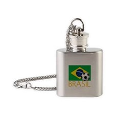 Brasil Flask Necklace