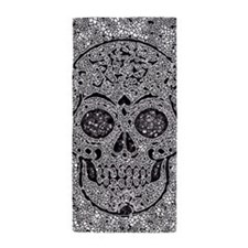 Mosaic Skull Beach Towel