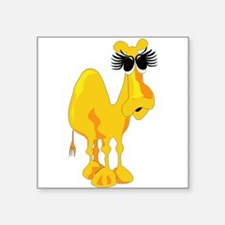 Big Eyelashes Camel Sticker