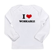 I love Workable Long Sleeve T-Shirt