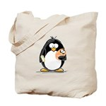 new baby Penguin Tote Bag