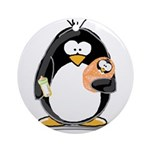 new baby Penguin Ornament (Round)