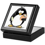 new baby Penguin Keepsake Box