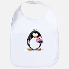 new baby girl Penguin Bib