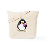 new baby girl Penguin Tote Bag