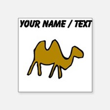 Custom Brown Camel Sticker