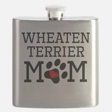 Wheaten Terrier Mom Flask