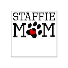Staffie Mom Sticker