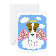 Unique Jack russel terriers Greeting Card