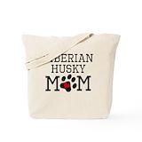 Siberian husky Totes & Shopping Bags